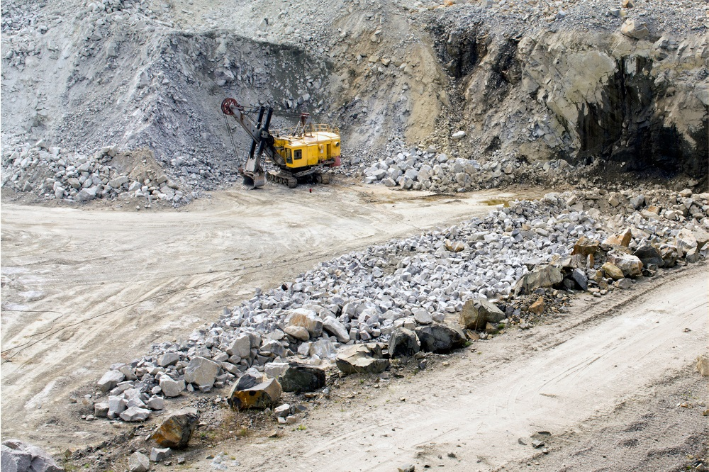 wydobywanie kamienia